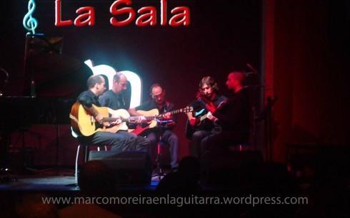 """Actuación en """"El Molino"""" - Grupo de Estudio 2011 - Clases de Guitarra Barcelona"""