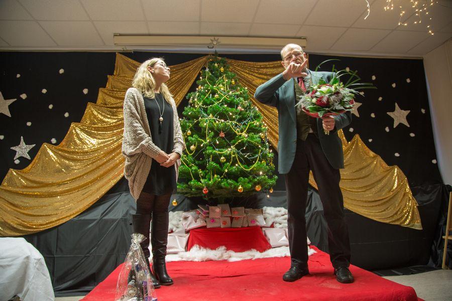 Blumen für Becker Steffi zum Abschied