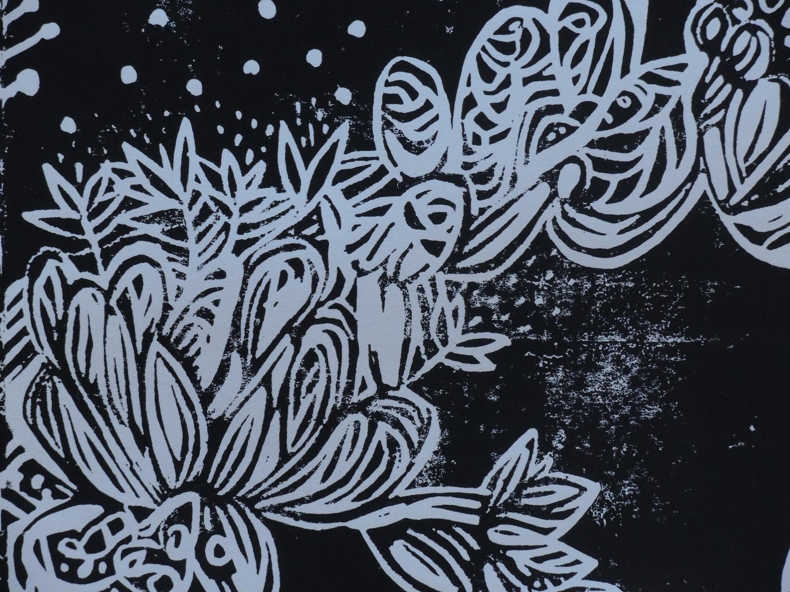 Linoldruck, Lucia Jokiel