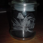 Vorratsglas Pilze