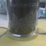 Vorratsglas Vanillinzucker
