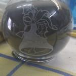 Teelichthalter Glocke