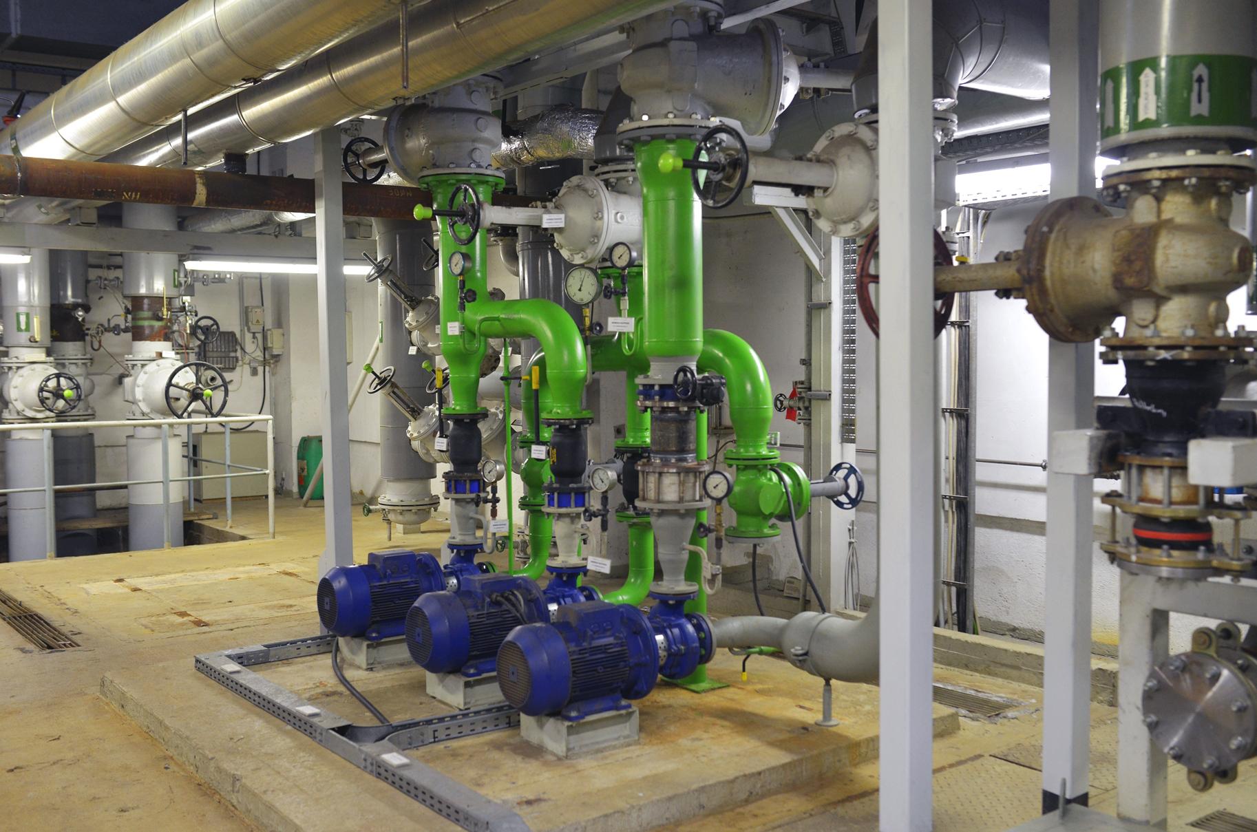 Die Anlage des Wärmewerks in Neubrandenburg, Foto: GTN.