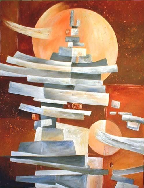 chine - peinture contemporaine de Sylvie Boulet