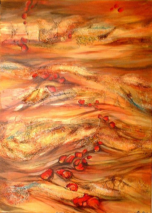 Erg - peinture contemporaine de Sylvie Boulet