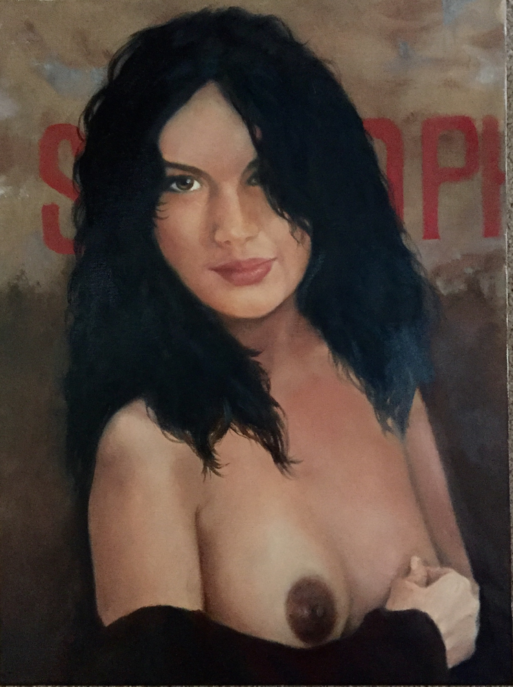 Sophy - oil on canvas