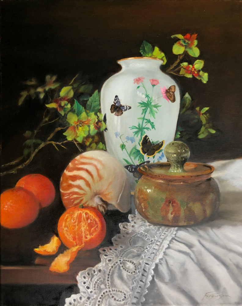 Still life - oil on linen