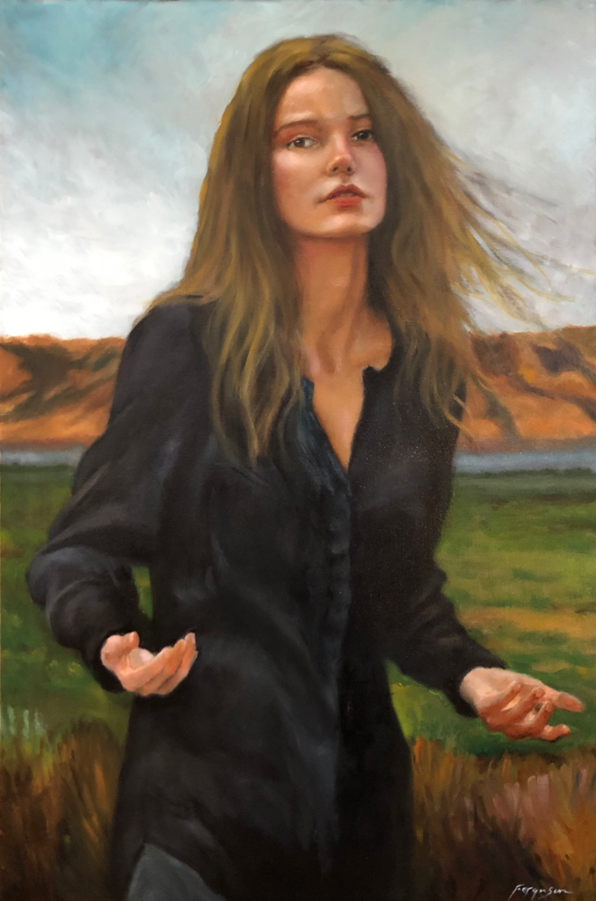 Irina - oil on canvas