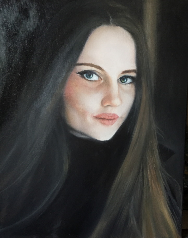 Valentina - oil on canvas