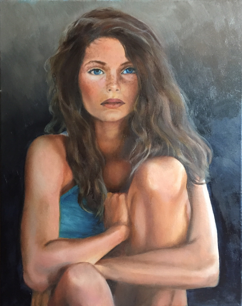 Freckles - oil on canvas