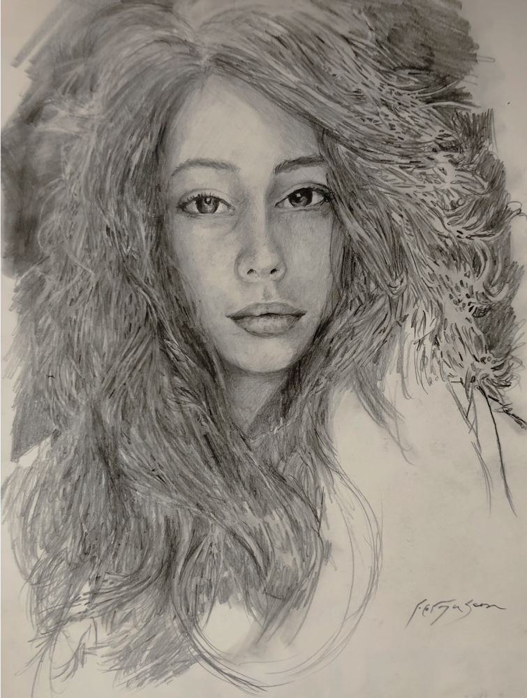 Frederica Frucci - Pencil on paper