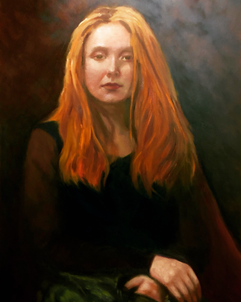 Grace - oil on canvas