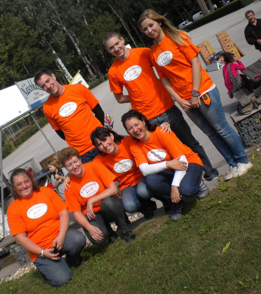 Team Kinderflohmarkt 2012
