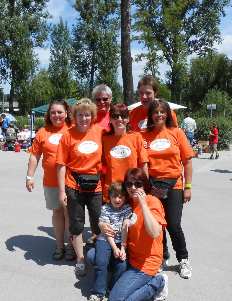 Team Kinderflohmarkt 2013