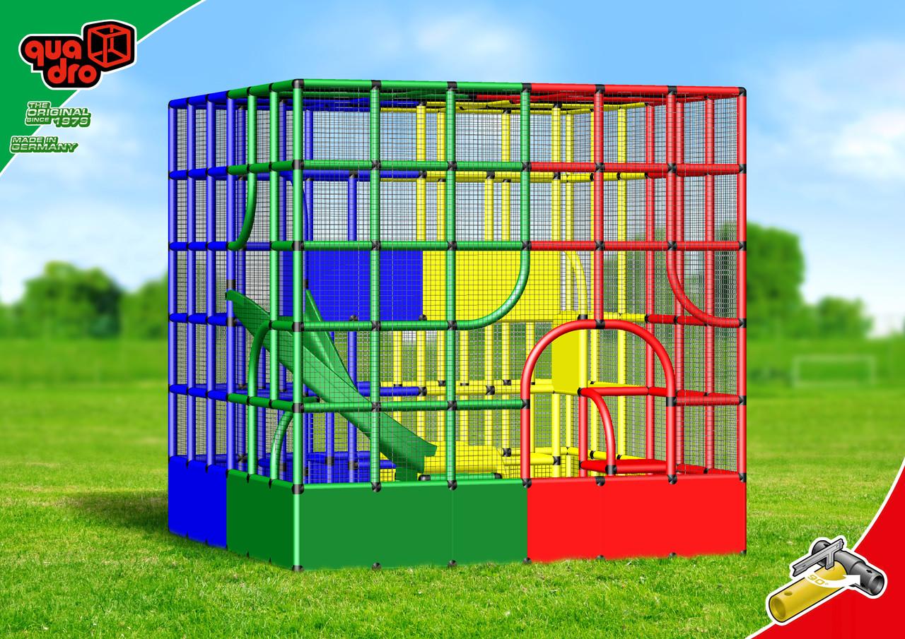 Quadro Klettergerüst Xxl : Quadropro quadro der grossbaukasten
