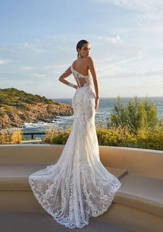 Brautkleid, Hochzeitskleid in Meerjungfrau-Form