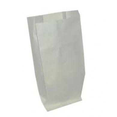 SACCHETTI KRAFT BIANCO - Sacchetto in carta kraft colore bianco gr.45, per alimenti, varie misure