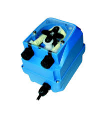 POMPETTA BRILLANTANTE - Pompa con regolazione volumetrica del dosaggio. Alimentazione : 230 Vac Assorbimento 3.5 W.