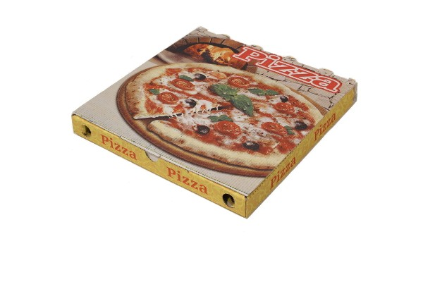 CARTONE PIZZA - Cartone porta pizza 32.5x32.5x3