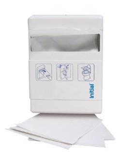 VELINE COPRI WC MINI RICAMBIO - Veline copri wc in carta, 10 cartucce da 20 pezzi.