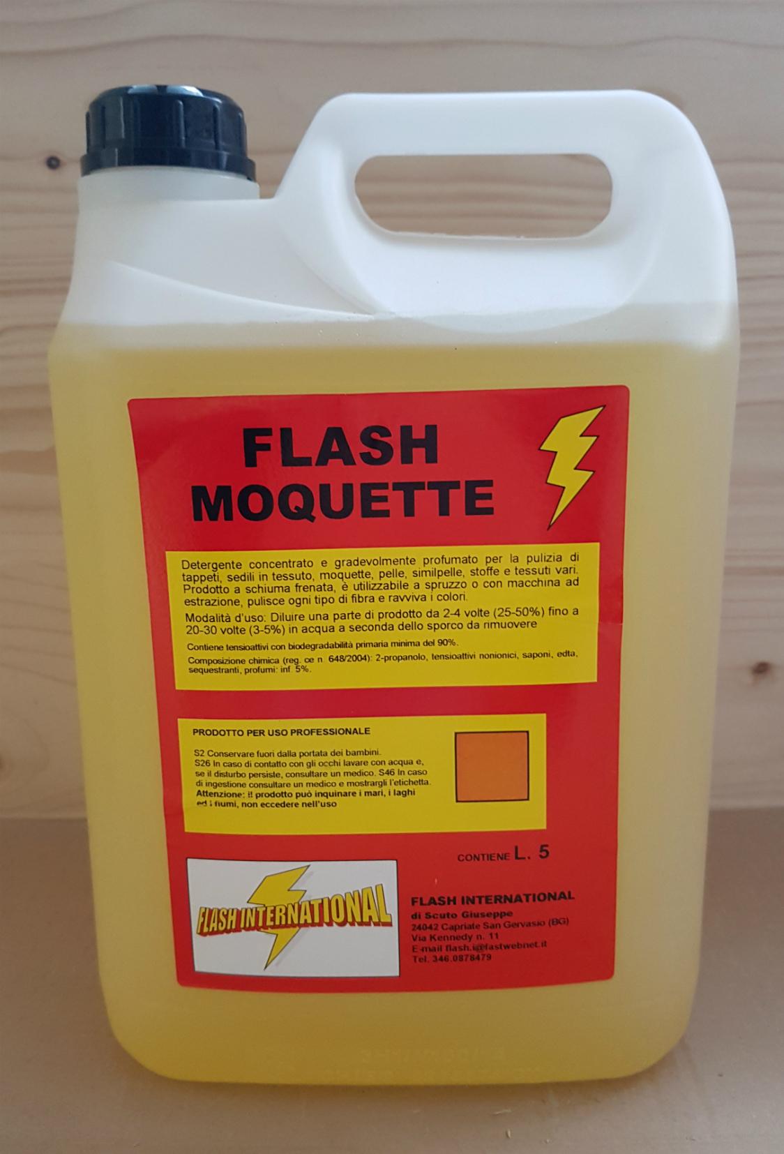 MOQUETTE - Prodotto specifico per la cura degli interni auto in tessuto