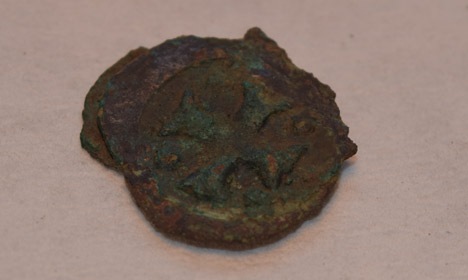 La monnaie du début du XIVe siècle. Crédit : Viborg Museum