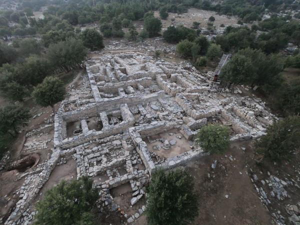 Le palais de Zominthos. Crédit : Ministry of Culture and Sports, Greece