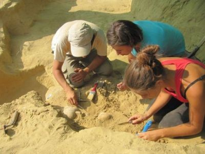 Fouilles tombes mycéniennes