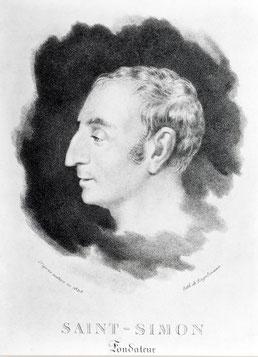 Comte de Saint-Simon. Ph. Coll. Archives Larousse