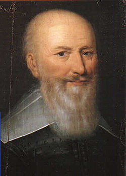 Le duc de Sully vers 1630