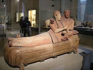 Le « Sarcophage des Epoux », Musée du Louvre