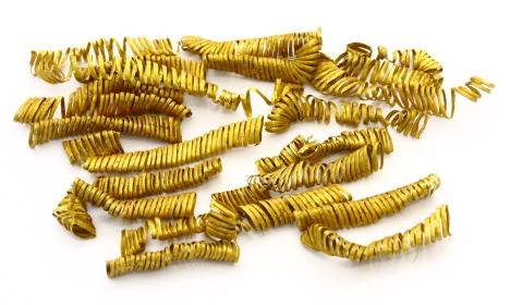 Les spirales d'or. Crédit : Vestsjællands Museum