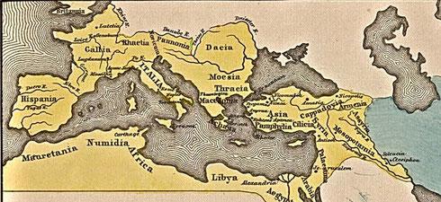 L'empire romain au Ier siècle de notre ère