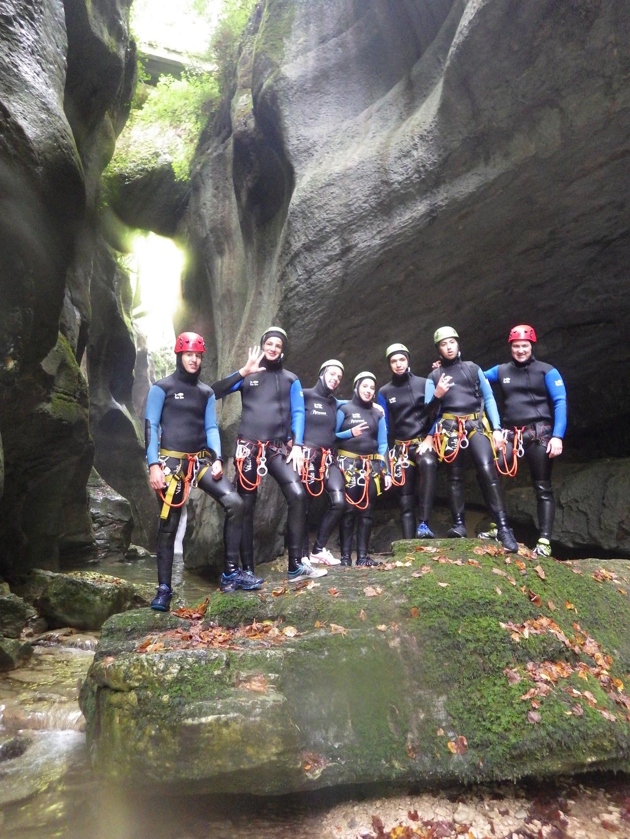 Dans les gorges du Furon - Isère -Vercors