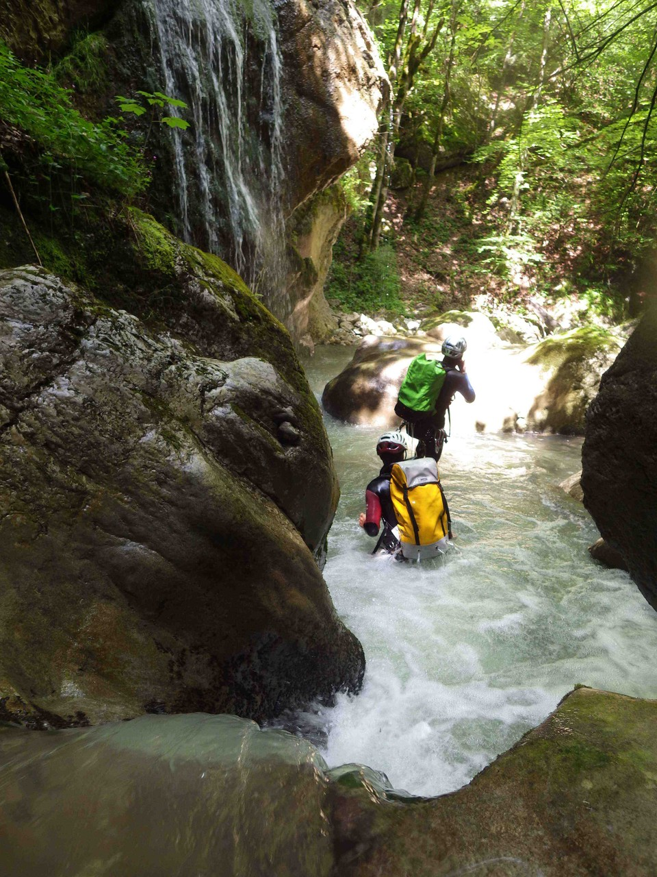 Guide canyoning du trièves: moules marinières