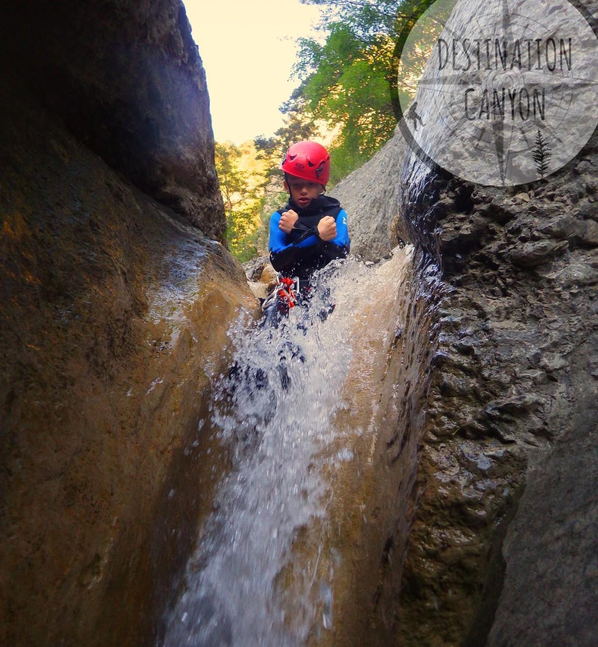 Le canyoning proche de Lus la Croix Haute