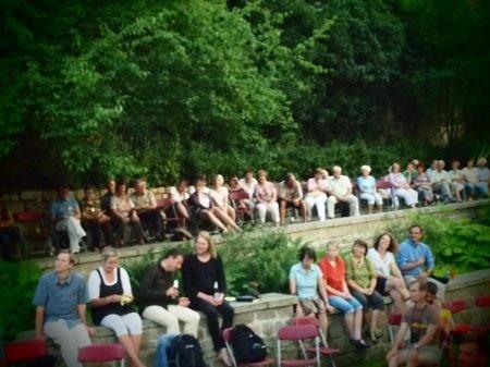 Veranstaltungsort für die Hauptveranstaltung - der Görlitzer Nikolaizwinger