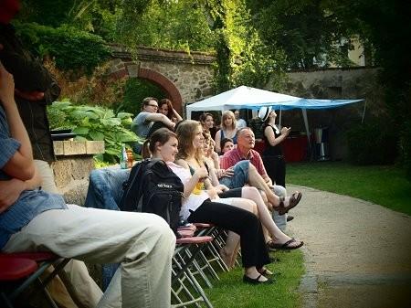 Literatur und Musik konnten die Görlitzer am Sonnabend im Nikolaizwinger geniessen