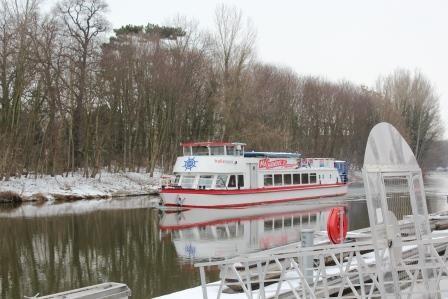 MS Händel II im Winter
