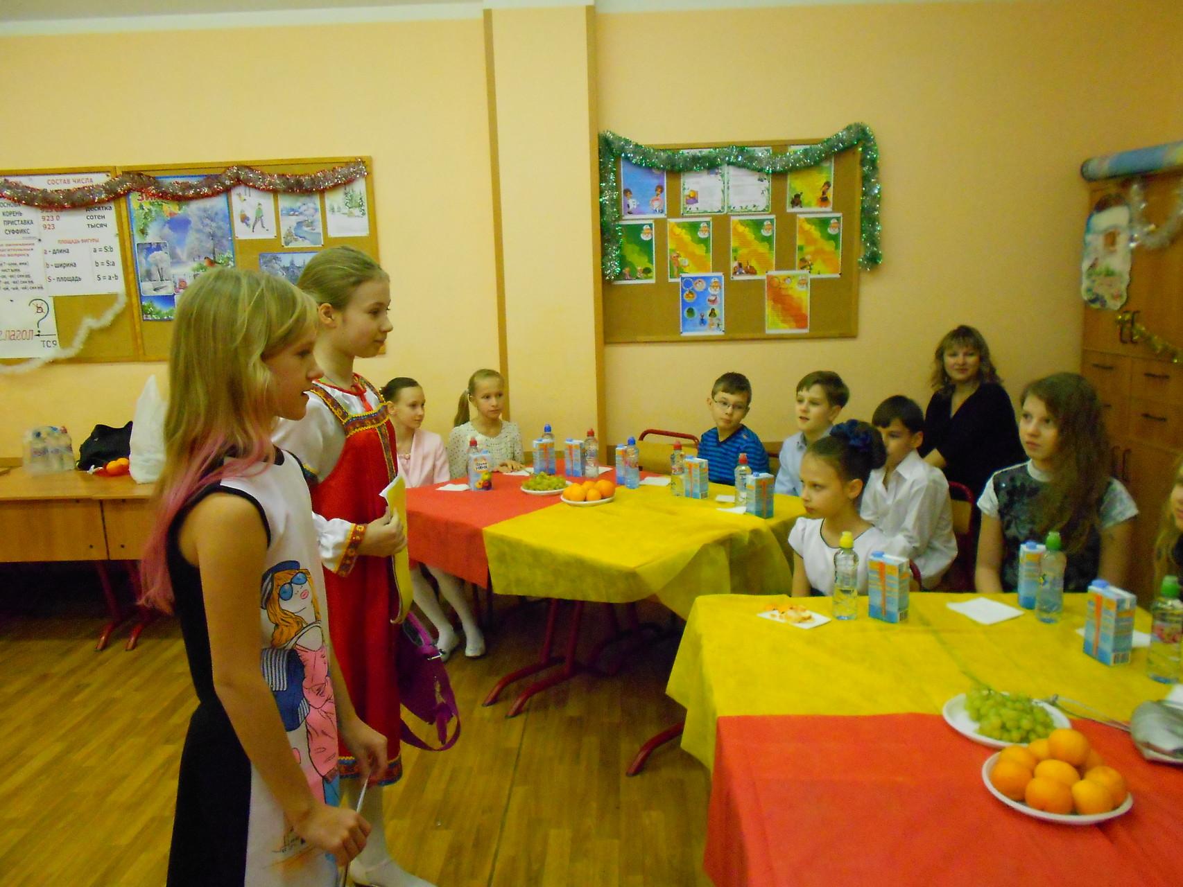 Новогодняя викторина от Илюхиной Юлии и Матвеевой Дарьи