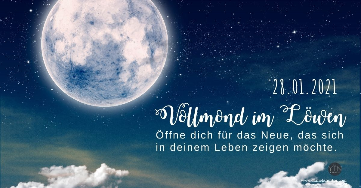 Vollmond im Löwen am 28.01.2021