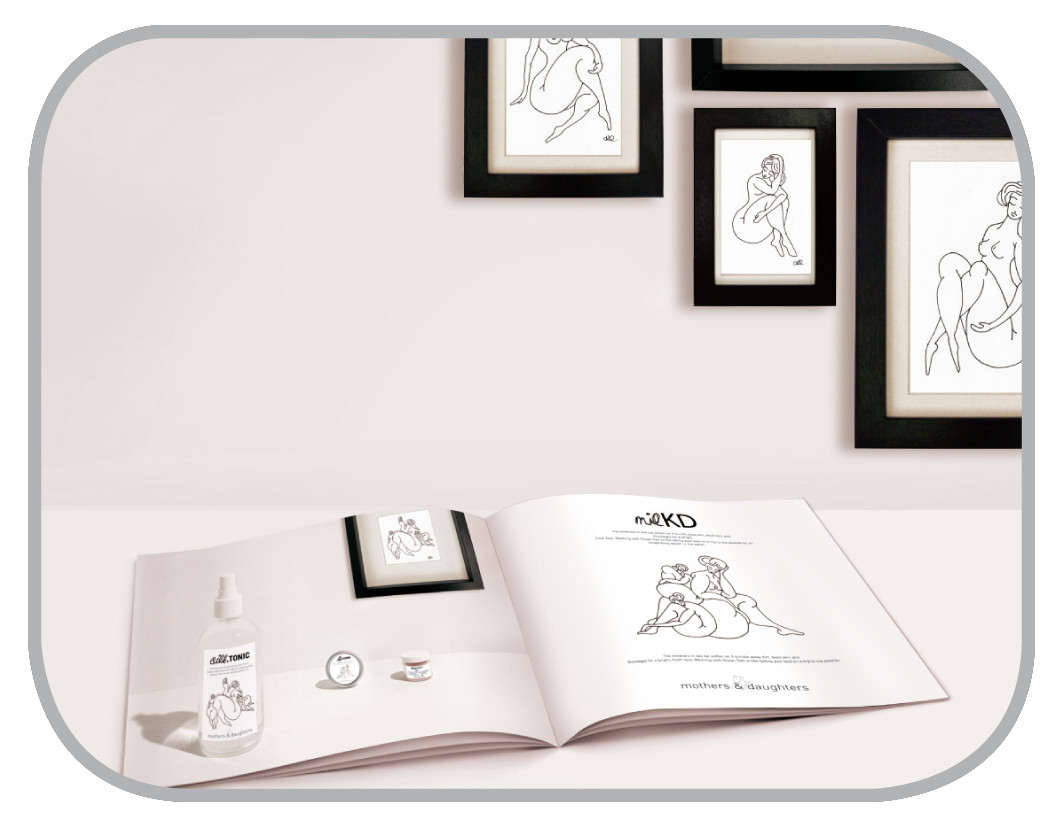 Kosmetik- & Pflegeprodukte Coporate-Design