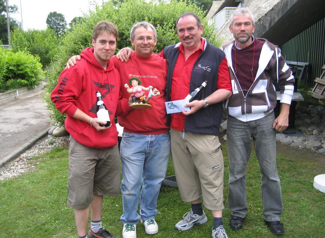 Etienne et Franz de Zufikon remportent le tournoi