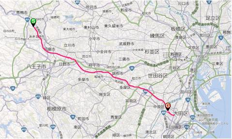 2012年 50km全長GPS計測