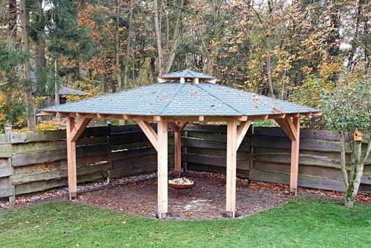 Grillpavillon - Ansicht 2