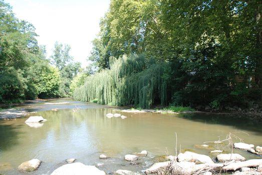 Rivière le Luy en Chalosse