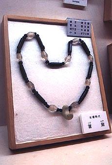日本の(古墳時代 後期)首飾り