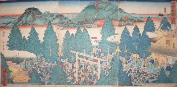 浪花講(お伊勢参り) - 玉造稲...