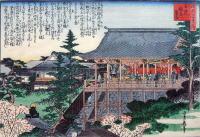 浪花百景(玉造稲荷舞台):初代・長谷川貞信