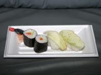 平成16年・玉造黒門しろうり食味祭 「くろもんにぎり/巻寿司」